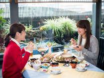【レストラン四季】少し贅沢に…お昼のランチ会席をゆっくりと