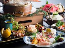 【秋の実り膳】瀬戸内の豊かな自然に育まれた旬彩を料理人が丁寧に仕上げた特別会席です