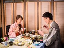 【レストラン四季】間仕切りの付いた個室風レストランで大切な時間をゆっくりと…
