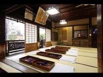 道後温泉本館 神の湯2階休憩室(改修工事のため2019年1月14日まで)