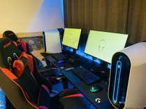 PC2台設置しております。