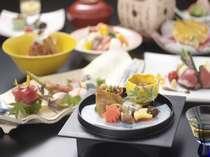 素材の旨みを活かしたやさしい味わいの和食会席。