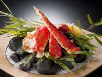 【美味旬旅】【一条亭】北の味覚!焼きタラバ蟹・かに付プラン【和食会席「彩花」】