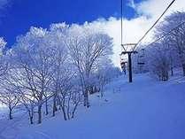 冬のリフト