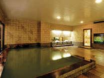 天然温泉大浴場『壱の湯』清掃時間を除き、深夜もご利用いただけます。