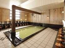 【温泉 弐の湯】地下より湧き出る温泉。その湯は関節痛・筋肉痛にと効能を実感頂けます。