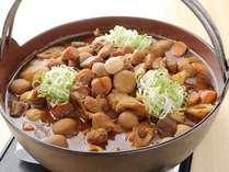 【朝食バイキング】名古屋めしバイキング『根菜たっぷりの味噌煮』ご飯に合います