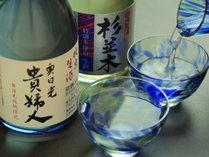 【地酒】手作りにこだわった料理とともに、奥日光の美味しい地酒もいかがですか?