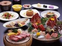 【県産牛も海の幸も】千葉県産牛鉄板焼きと海鮮プラン
