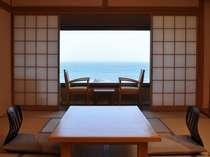 和洋室の和室からの眺め