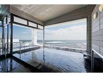 【ヒノキ風呂付き展望客室】太平洋と犬吠埼灯台が一望のヒノキ風呂付客室宿泊プラン