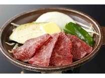 (2)千葉県産牛陶板焼き