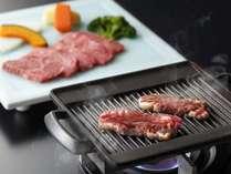 【千葉県産牛鉄板焼】、やっぱりお肉も食べたいですよね!