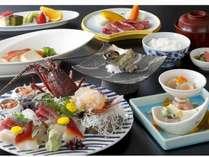 伊勢海老・金目・サザエなど人気の食材を集めました。
