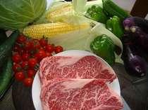 プレミアム信州牛&新鮮野菜ステーキプランのみ