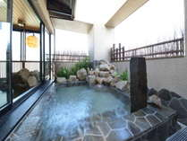 ◆男性大浴場 露天風呂 スカイビューをご満喫下さい♪