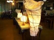 オーナー手作りランプ