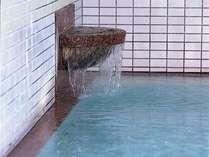 肌にやさしい美人の湯。保湿効果が高く、柔らかい泉質。