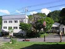 ぬかびら源泉郷の中に佇む温泉宿