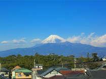 客室からの富士山(一例)