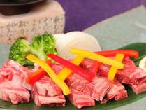 【あしたか牛のステーキ】お肉本来の旨味をストレートに味わえる珠玉の逸品。