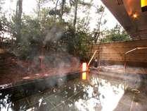 熱海直送の温泉が愉しめる大浴場からつながる【露天風呂】を新設!たいへん好評です