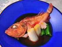 【煮 物】 沼津底網漁の姿煮(2015.6~8一例)
