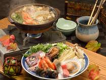 魚介の旨味を豪快に「漁師鍋」でご堪能いただけます♪
