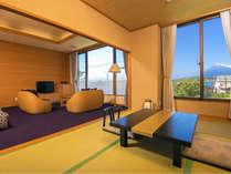【29.5リニューアル】富士山側の和洋室(雅)