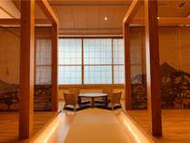 【2019年6月オープン】離れの部屋『みやび』(52平米/トイレ付)旅籠をイメージしたくつろぎの大空間。