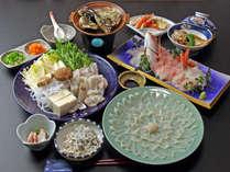 若狭名物 ふぐコース料理 ほっこりお宿で大満足(=´▽`=)ノ♪