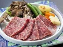◇追加料理 「いわて牛A4クラスステーキ」