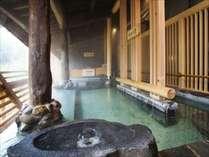 【森の露天】3種類の浴槽をお楽しみいただけます。