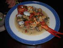 夏は夕食時に「金目鯛のアクアパッツァ」を!!