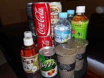 湯上りに冷たい飲み物でスッキリ!!♪客室冷蔵庫飲み物無料♪