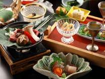 よろづや本館の【彩会席】は信州の恵みたっぷり、四季折々の12品!