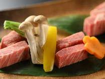 【科野 しなの】とろける信州プレミアム牛をステーキでどうぞ
