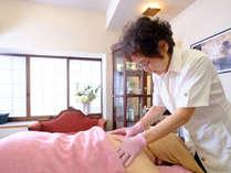 2階のエステルームでは、エステティシャン歴30年以上のオーナー施術がうけられます。(事前予約制)