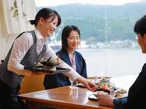【じゃらん限定】≪夕食口コミ4.5感謝プラン≫夕食は海の見える和食処で&嬉しい10個のおもてなし