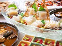 気仙沼の朝ごはんといえばやっぱりお刺身やお魚料理!珍しいおかずもあるので、いろいろお試しください♪