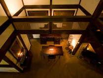 【二本の葦束 フロント】意匠の凝らされた離れが10棟。プライベート空間をお約束致します。