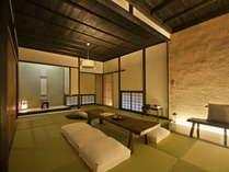 【烏兎庵 -UTOAN-】古きものと新しきものの融合した、檜風呂付き離れ客室