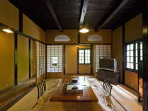 【樹陰房 -JYUINBOU-】150年経た蔵を今、時を経て、客人にもてなす部屋へと…。