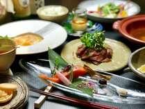 京都ミシュランガイド掲載店『motoi』プロデュース。地元大分の旬の食材をふんだんに使用した創作会席