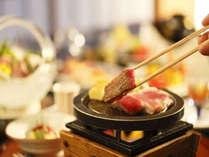 ★旬の素材をメインにした料理でおもてなしをいたします。