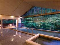 景色豊かな大浴場