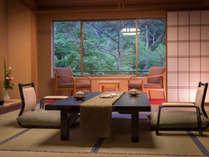 【標準和室12畳+踏込】ゆったりと落ち着く和室