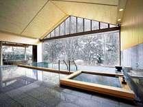 冬の大浴場