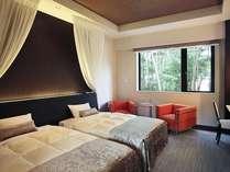 オリエンタルリゾートをテーマとした2階フロア。