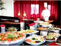 朝食会場(イメージ)朝食口コミ4.8 シェフズコーナーでのオムレツをはじめ、和洋約30品目のビュッフェ